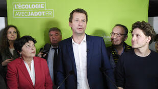 Le député européen Yannick Jadot lors d'une conférence de presse, le 7 novembre 2016.