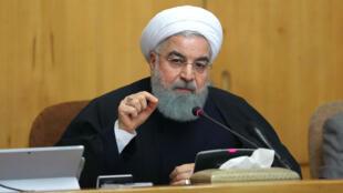 """Le gouvernement iranien a mis en garde contre les """"rassemblements illégaux""""."""