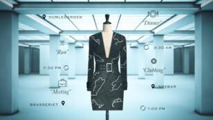 Coded Couture, la robe sur-mesure créée grâce à l'analyse de vos données personnelles.