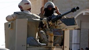 عناصر من الجيش المصري شمال سيناء في كانون الأول/ديسمبر 2017