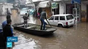 2019-10-30 14:55 أمطار مفاجئة تحول القاهرة إلى مدينة البندقية!!