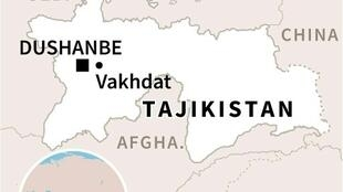 The prison in Vakhdat, 17 kilometres (11 miles) east of the capital Dushanbe, holds 1,500 inmates