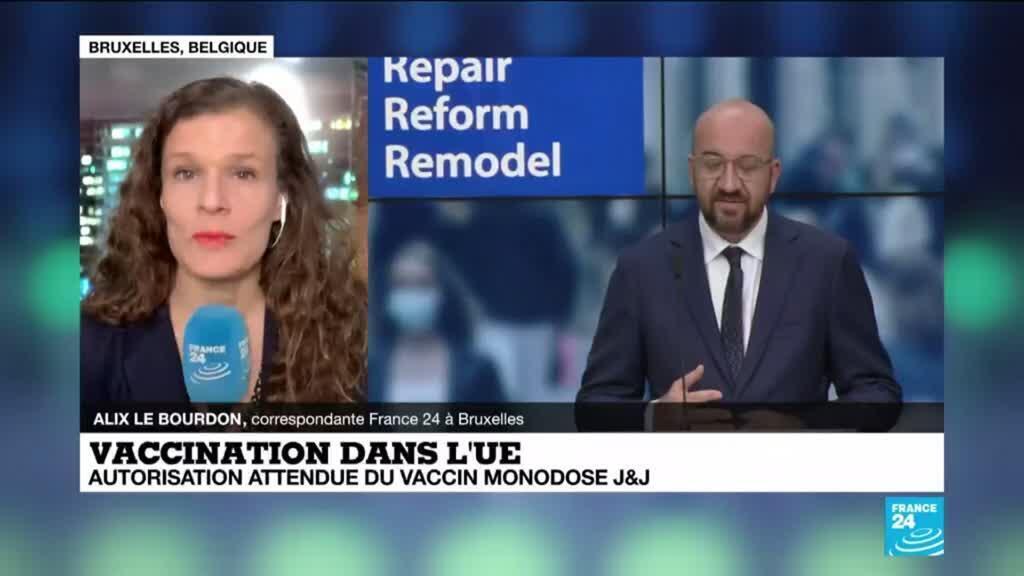 2021-03-11 10:07 Vaccination dans l'UE : autorisation attendue du vaccin monodose Johnson & Johnson