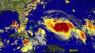 """La saison 2020 des ouragans sera probablement """"au-dessus de la normale"""" dans l'Atlantique, selon les services météorologiques américains."""