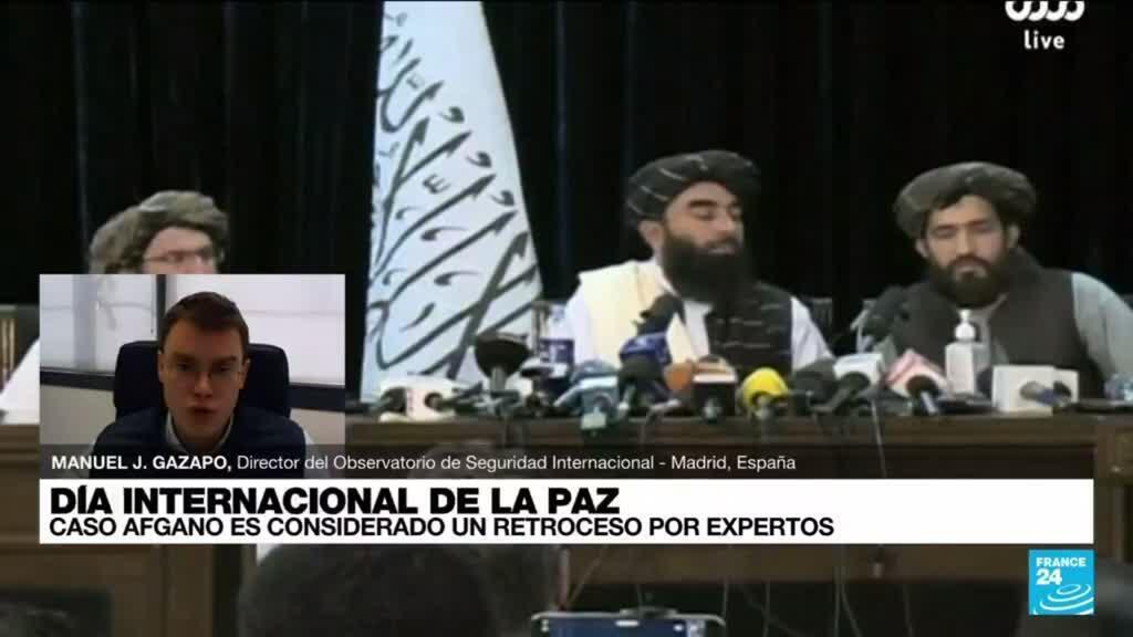 """2021-09-21 19:08 Manuel J. Gazapo: """"El extremismo radical vuelve a reinar en Afganistán"""""""