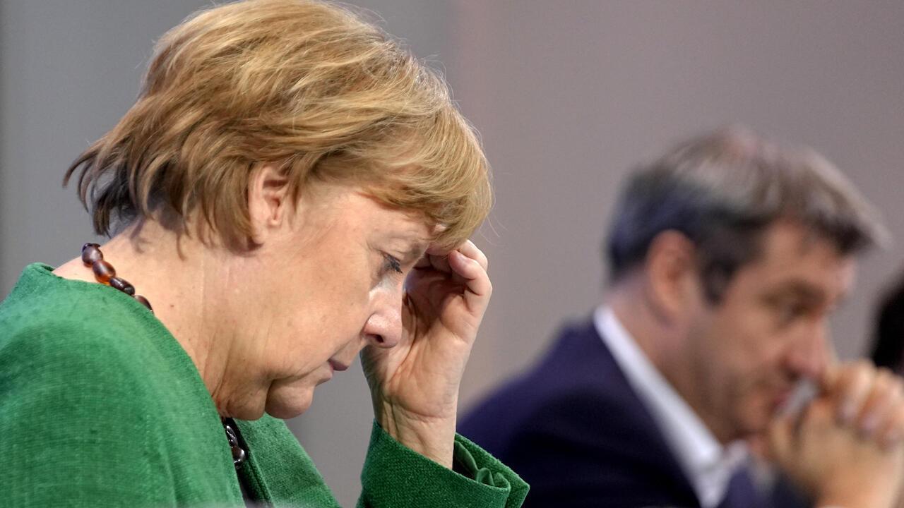 Merkel new lockdown