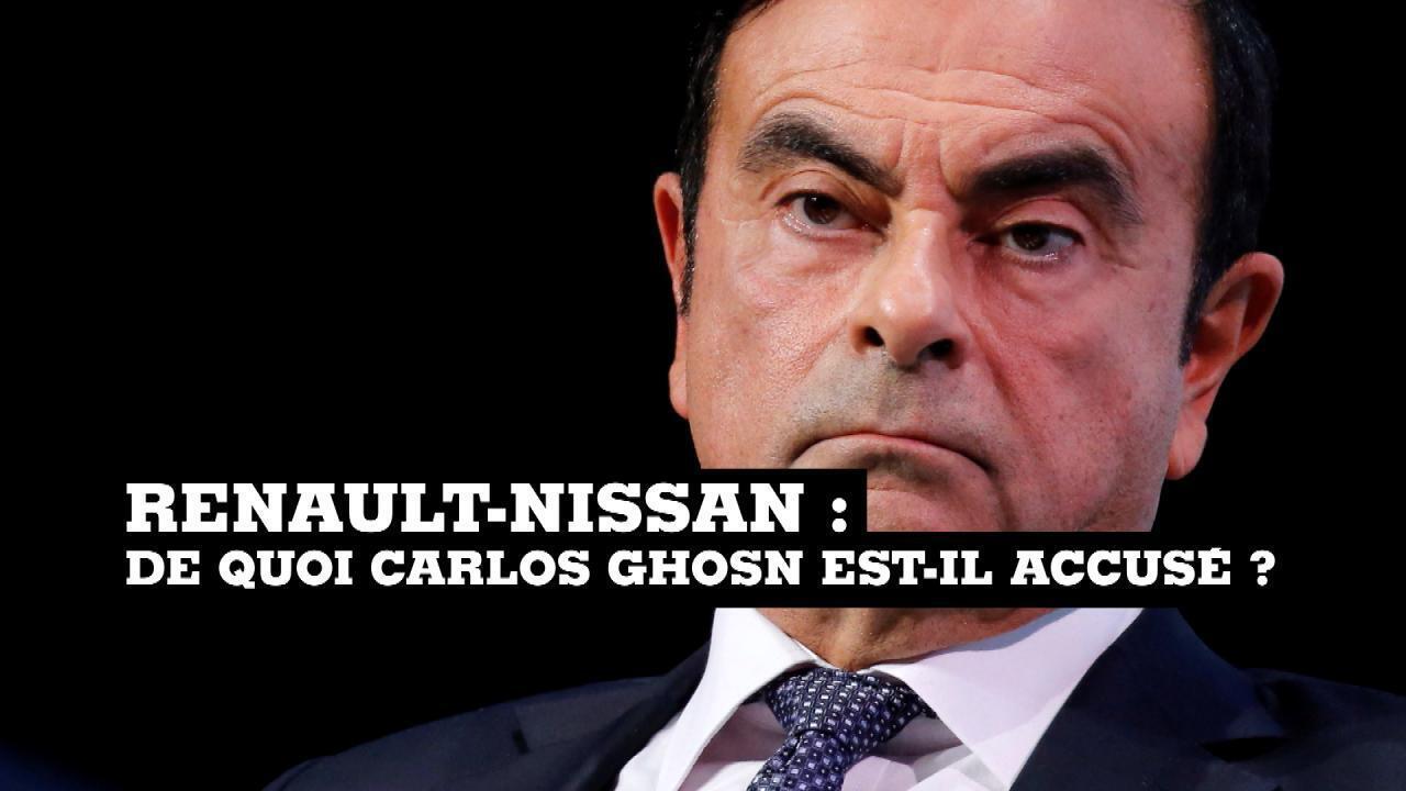 Renault-Nissan : de quoi Carlos Ghosn est-il accusé ?