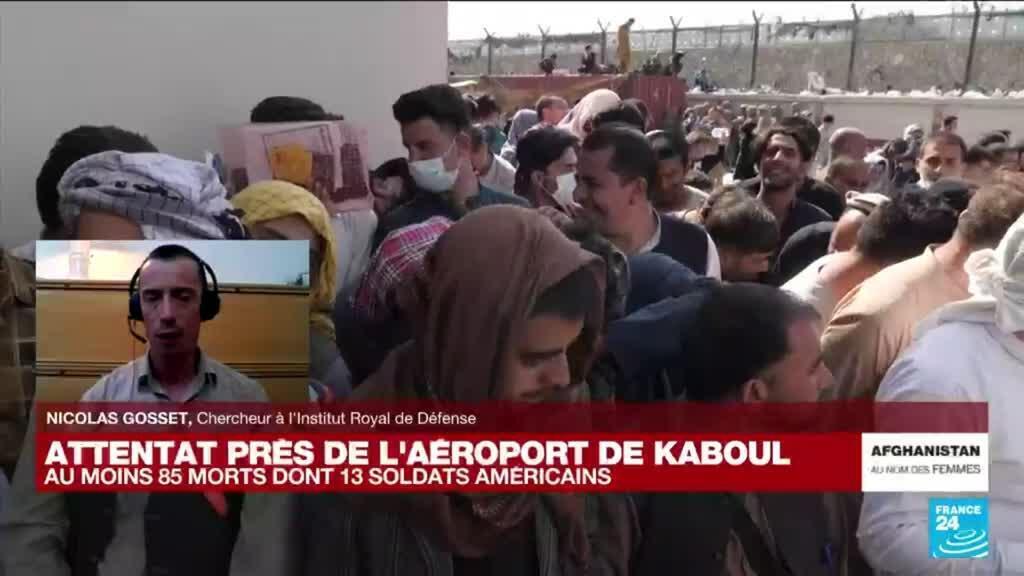 """2021-08-27 18:10 Attentat à Kaboul : """"Pour le groupe Etat islamique, il s'agit d'humilier les Taliban"""""""