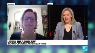 2020-02-24 21:06 Dr. Anna Bradshaw comments on Assange's extradition case on France 24