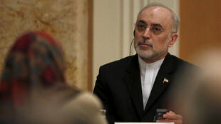 Alí Akbar Salehí, jefe de la Organización de Energía Atómica de Irán, ofreció información sobre los trabajos desarrollados. Noviembre 5 de 2015.