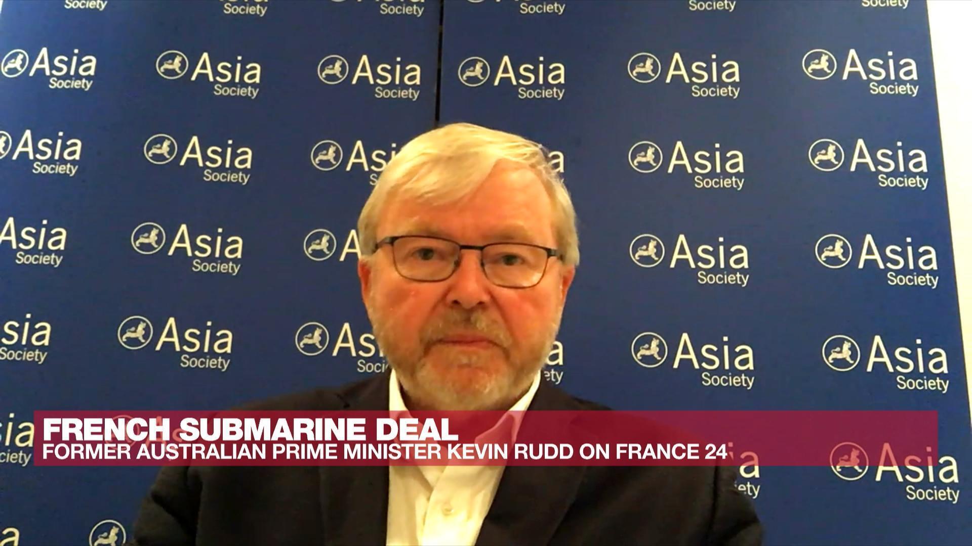 Kevin Rudd, former Australian prime minister