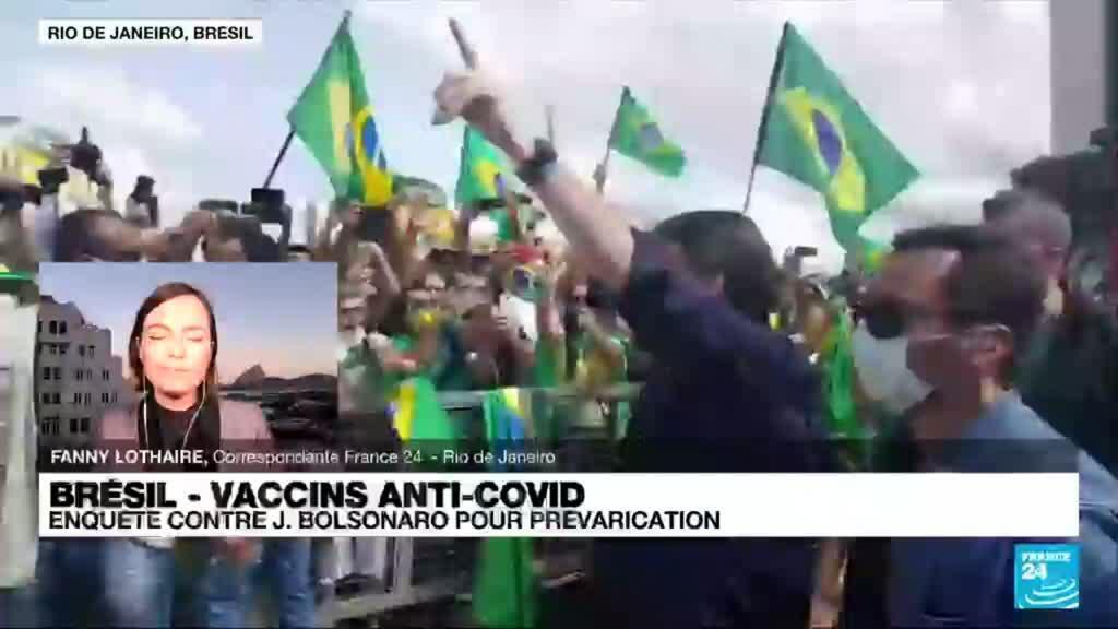 2021-07-02 22:08 Brésil : une enquête ouverte contre Jair Bolsonaro dans une affaire de tentative de corruption