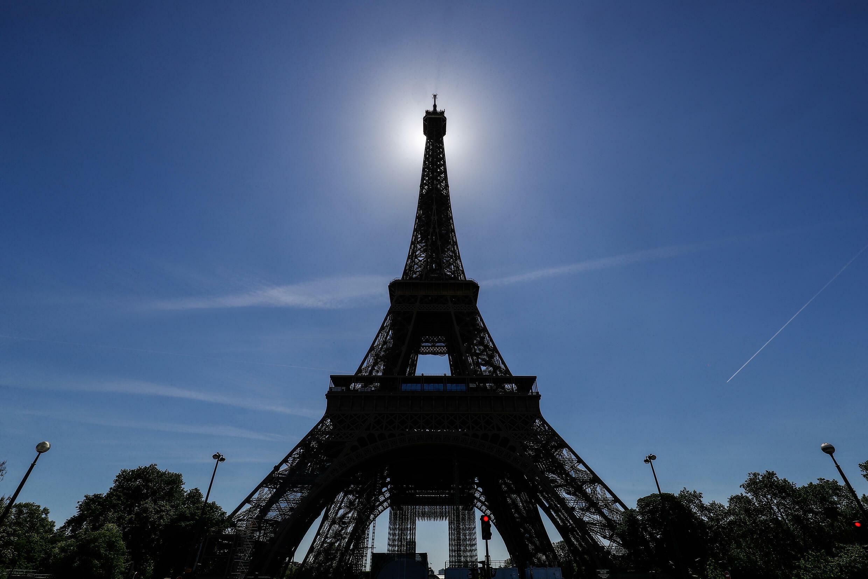 La Tour Eiffel le 13 juin 2021