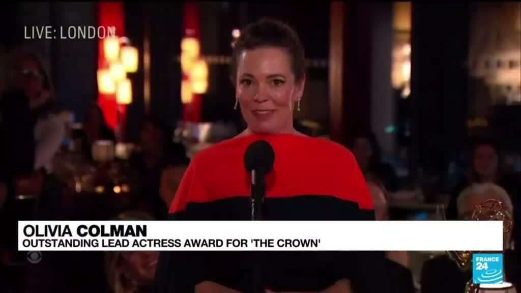 2021-09-20 13:17 'Ted Lasso,' 'The Crown,' win top Emmy Awards on streaming heavy night