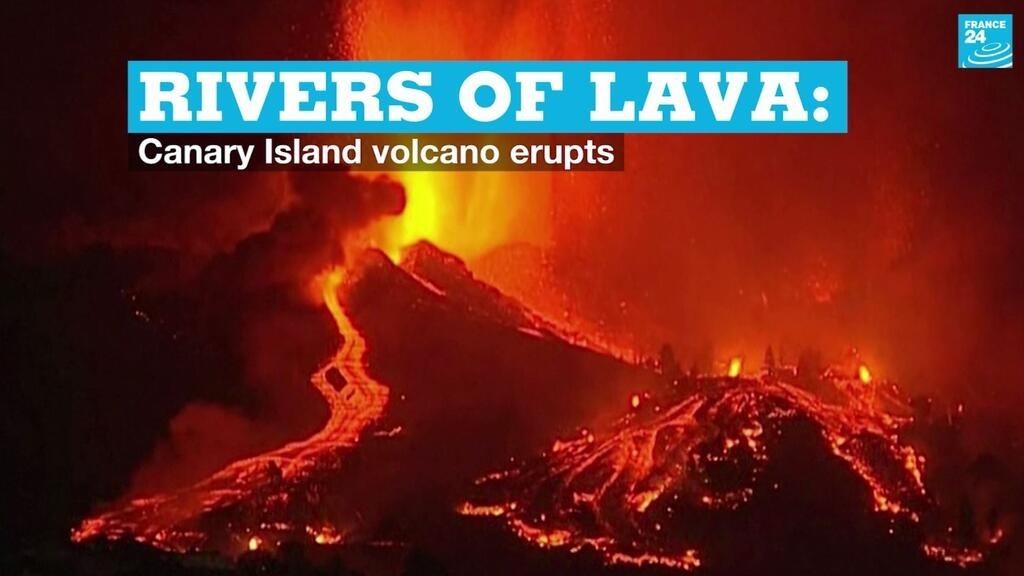 Rivers of lava: Canary Island volcano erupts thumbnail