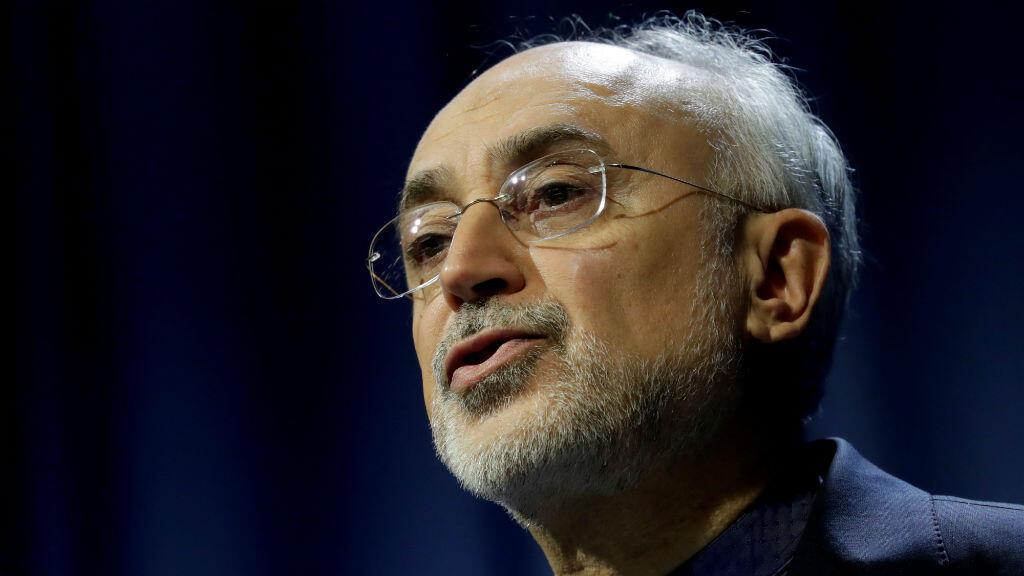Ali Akbar Salehi, jefe de la Agencia de Energía Atómica de Irán (AEAI), asiste a una sesión de la Conferencia General del Organismo Internacional de Energía Atómica (OIEA) en Viena, Austria, el 16 de septiembre de 2019.