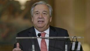 الأمين العام الجديد للأمم المتحدة أنطونيو غوتيريس