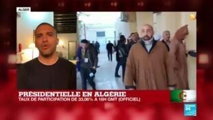 """2019-12-12 20:01 Présidentielle en Algérie : """"L'élection la plus boycottée depuis l'indépendance de l'Algérie"""""""