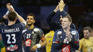 Les hommes de Nikola Karabatic ont battu les Brésiliens 31 à 16, mercredi à Paris.