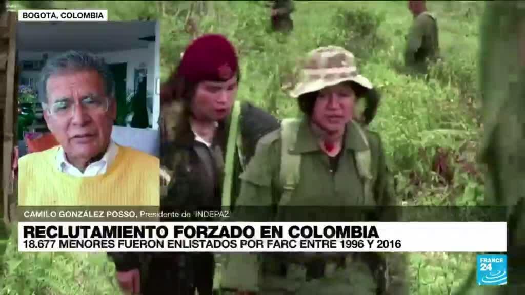 """2021-08-11 14:35 Camilo González: Los menores reclutados """"son un dolor para Colombia"""""""