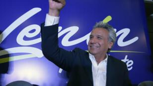 Lenin Moreno défend l'héritage de la gauche au pouvoir depuis une décennie.