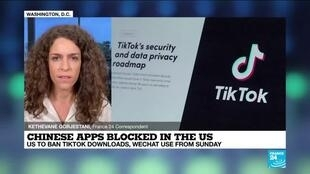 2020-09-18 17:06 US bans WeChat, TikTok from app stores citing security risk