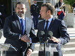 À l'Élysée, Emmanuel Macron promet à Saad Hariri d'aider le Liban