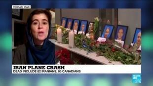 """2020-01-09 11:07 Iran plane crash: """"Full of crushing stories"""""""