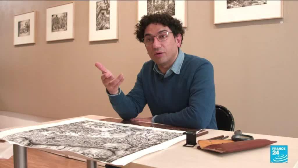 2021-06-17 14:46 Syrian artist Naja Albukai uses visual expression to deal with trauma