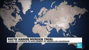 2020-08-18 13:01 Court finds no evidence of direct Hezbollah, Syrian involvement in Hariri assassination