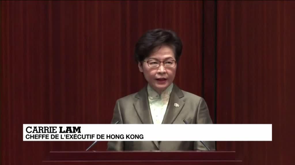 """2020-11-25 14:16 Contestation à Hong Kong : Carrie Lam promet de """"rétablir l'ordre"""""""