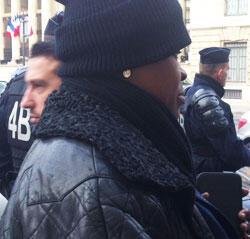 """Mado, 47 ans, une des """"filles du Bois de Vincennes"""" (Crédit : Charlotte Boitiaux / FRANCE 24)"""
