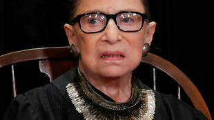 Ruth Bader Ginsburg le 30 novembre 2018.