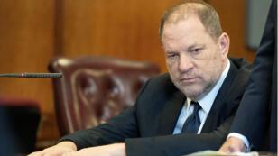 El productor y director estadounidense Harvey Weinstein en la Corte Criminal de Manhattan, el 5 de junio de 2018.
