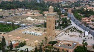 أعمال التجديد بدأت في مسجد الكتبية في مراكش