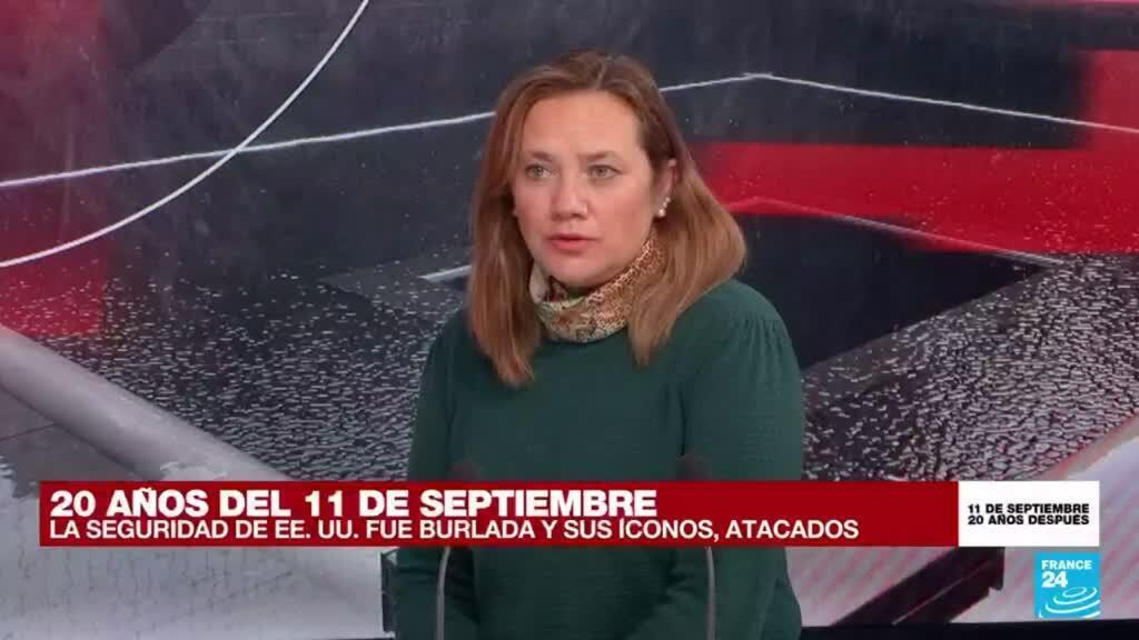 """2021-09-11 15:29 María Teresa Aya: """"La guerra había que hacerla, Estados Unidos lo entiende así"""""""
