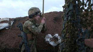 تخشى أوكرانيا من حشد عسكري روسي على حدودها