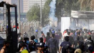 احتجاجات العراق، بغداد، 30 نوفمبر/ تشرين الثاني 2019.