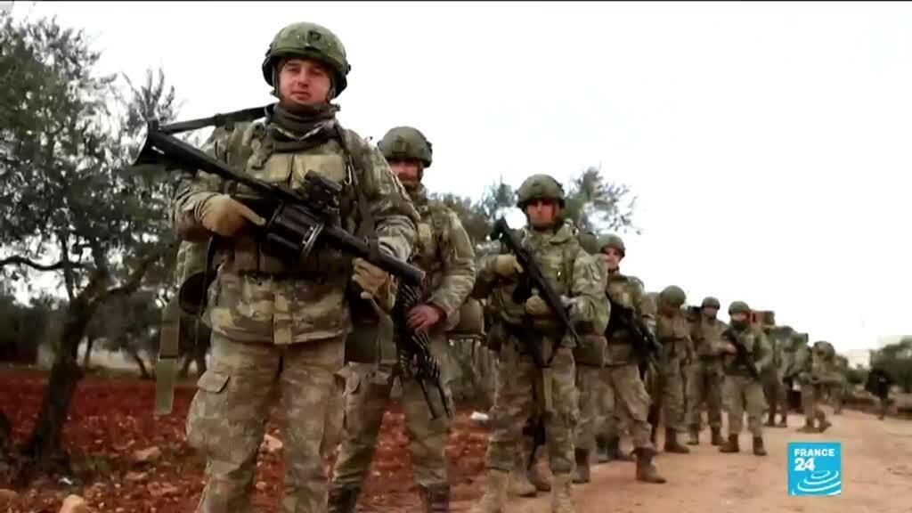 2020-02-11 10:09 Guerre en Syrie : Les affrontements se poursuivent entre soldats turcs et syriens