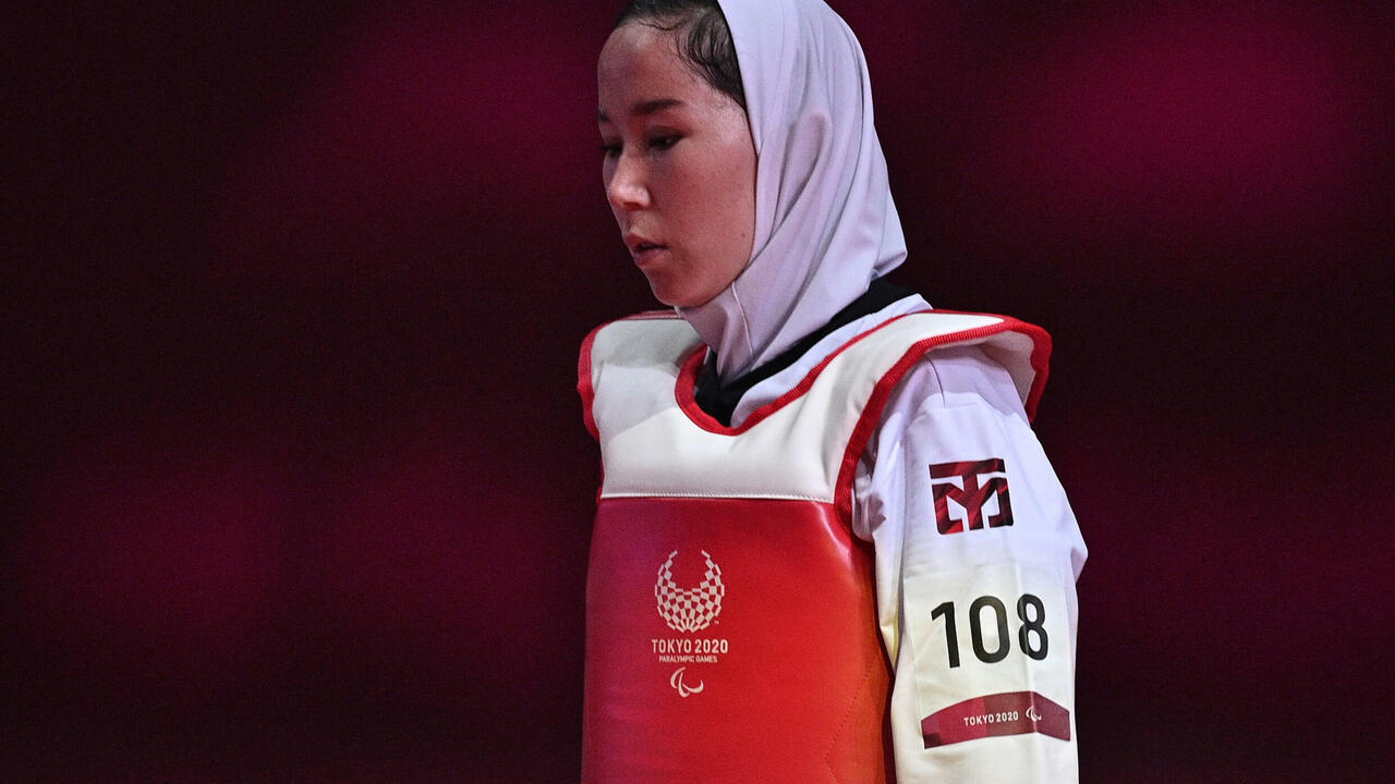 Image Taekwondo makes Paralympic debut as Storey pedals to glory