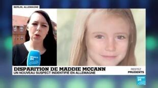2020-06-04 11:10 Un suspect allemand identifié dans l'affaire de la disparition de la petite Maddie McCann en 2007