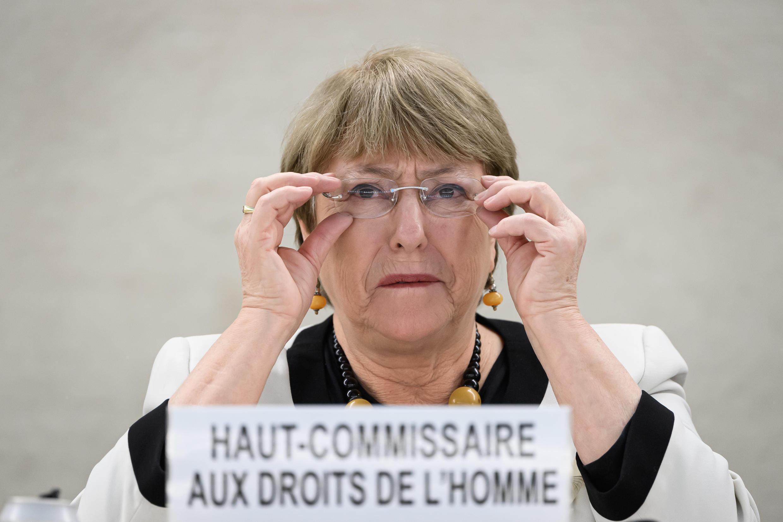 Archivo-La Alta Comisionada de la ONU para los derechos humanos, Michelle Bachelet, el 18 de diciembre de 2019 en Ginebra, Suiza.