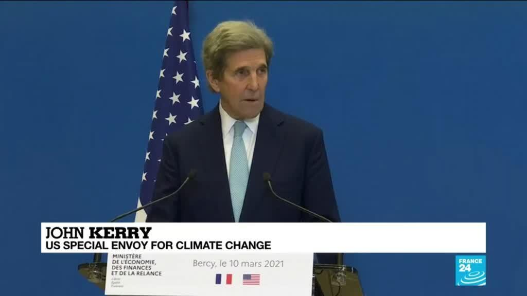 2021-03-10 16:01 Kerry says Paris Agreement signatories not doing enough to limit global warming