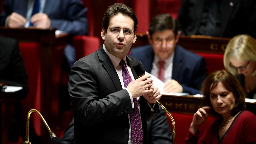 Matthias Fekl, secrétaire d'État en charge des Français de l'étranger, à l'Assemblée nationale, le 8 février 2017.