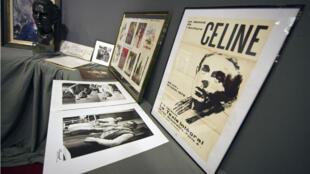 À Drouot, en 2011, lors d'une vente consacrée à Louis-Ferdinand Céline pour le cinquantenaire de sa mort.