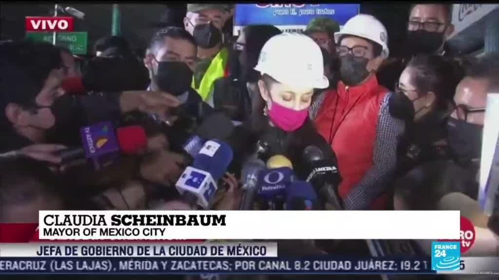 2021-05-04 11:01 23 dead, dozens hurt as elevated metro collapses in Mexico