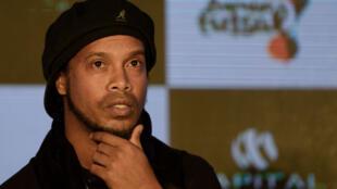 Ronaldinho, star du foot brésilien désormais engagée en politique.