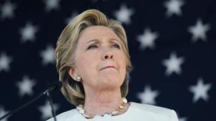 المرشحة الديمقراطية للانتخابات الرئاسية الأمريكية هيلاري كلينتون