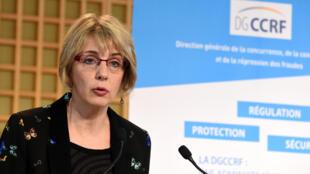Virginie Beaumeunier, directrice générale de la DGCCRF, en mars 2018