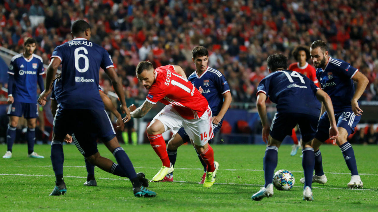 Portuguese champion Benfica beat Lyon 2-1 on October 23, 2019